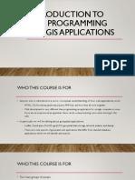 Geospatial Web 101
