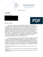 Senate Judiciary Committee Letter to Paul Erickson 01/25/18