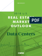 CBRE - 2018 U.S. Data Centers Outlook
