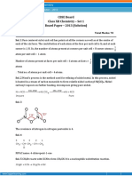 Chemistry 2013 Questions