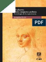 Joaquina Erviti - El aborto entre mujeres pobres. Sociología de la experiencia.pdf