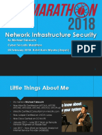 Network Infrastructure Security