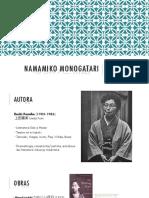 Namamiko Monogatari - As relações entre uma sacerdotisa-tradutora e sua imperatriz-texto