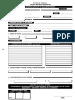 Ficha de Inscripción Junta
