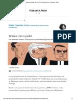 Tensão com o poder - 09_12_2018 - Paula Cesarino Costa -