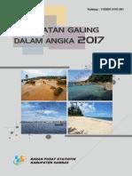 Kecamatan Galing Dalam Angka 2017