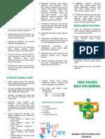 Leaflet Hak Pasien Dan Keluarga