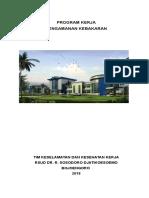 Program Kerja Pengamanan Kebakaran MFK