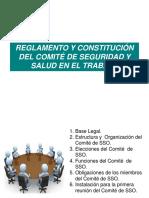 Reglamento y Constitución Del Comité