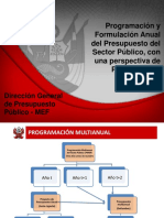 Program. Presup. Multianual