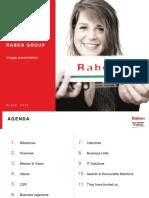 Raben Logistics Overview