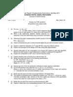 9D38103 Advanced Digital Signal Processing28