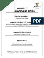 Principales Variables Del Analisis Interno