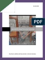 Reporte Flexion