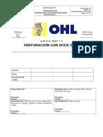 Estandar General_ Perforacion Con Rockdrill_OHL