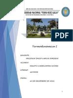 Cuestionario Termodinámica i