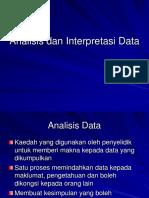 Slide 9 Analisis Dan Interpretasi Data KOM 3431