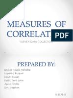 Measures of Correlation