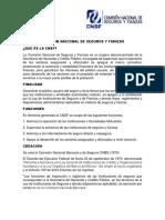 Comisión Nacional de Seguros y Fianzas 1