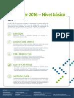 SQL Server 2016 Nivel Basico