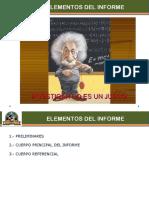 T10 - Elementos Const. Del Informe