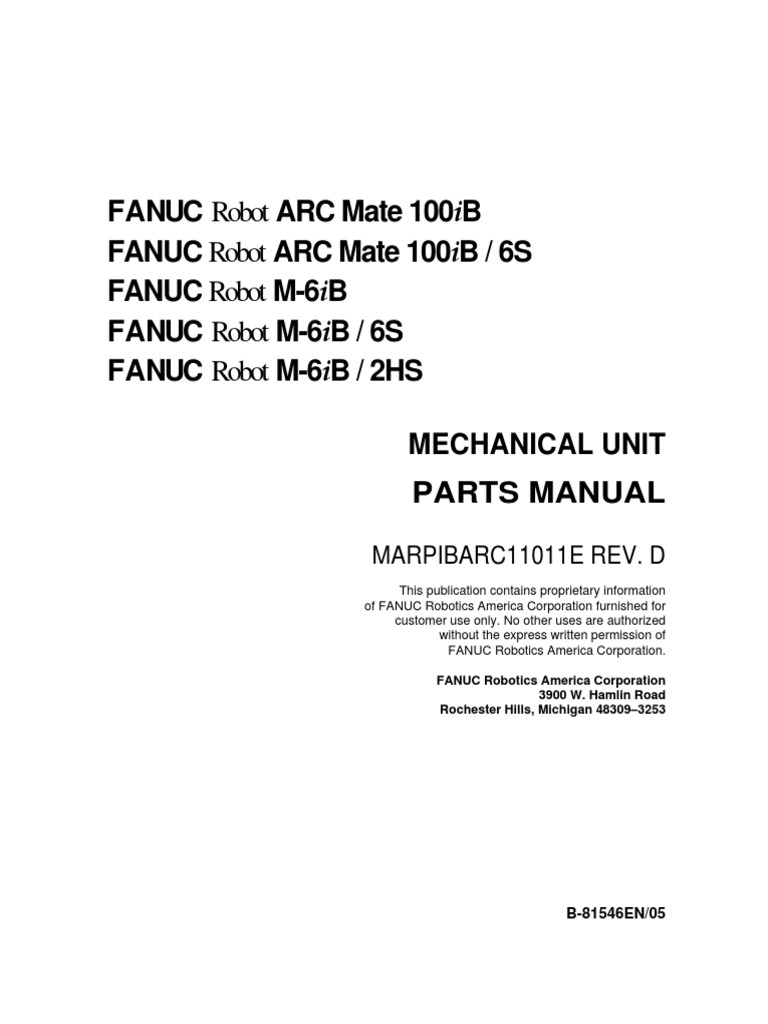Fanuc | Screw | Washer (Hardware)