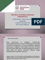 3. TRETMAN - Rana Intervencija