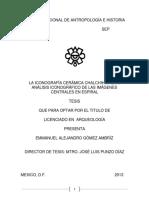 Iconografía Cerámica Chalchihuiteña. ANÁLISIS ICONOGRÁFICO DE LAS IMÁGENES CENTRALES EN ESPIRAL.