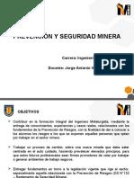 Clase 3, Prevención y Seguridad Minera