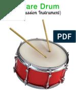 Musical Instruments Snaredrum