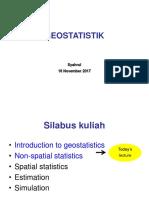 Pertemuan-2-Geostatistika