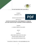 Protocolo de Investigacion Sustituto de Pintura Anticorrosiva