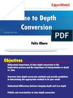 10. Time to Depth Conversion