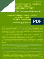 Földi Ferenc- Esztergomi Sortűz e65da48f57