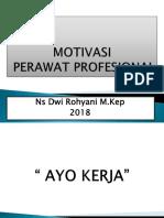MATERI  1.  MOTIVASI  PERAWAT PROFESIONAL.pptx