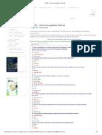 TOEFL - Error Recognition Test 20