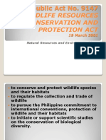 Republic Act No 9147 Wildlife Life(1)