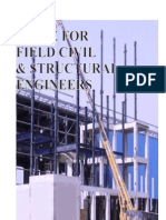 A Guide for Field Civil and Structural Engineer