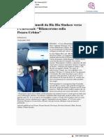 Ricci in un bla bla sindaco verso l'Università di Urbino - Pu24.it, 10 dicembre 2018