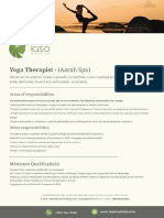 Yoga Thearapist