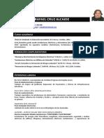 Curriculum Rafa Cruz AlcaideFB