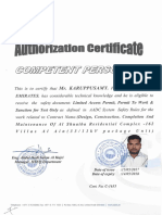 6.1 AADC Competent Person Certificate for 33-11 KV
