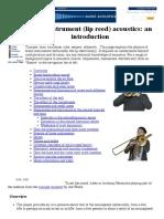 Brass Instrument  Acoustics_ an Introduction