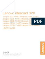 Lenovo ideapad 320-17AST&ABR User Guide - Etilize