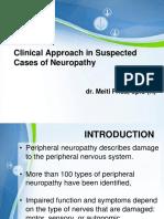 Clinical Approach in Neuropathy