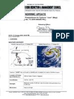 NDRRMC Update Sitrep No. 01-17 Oct 2010-6pm