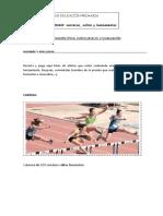 Atletismo 5º e.p. Tarea de Investigación