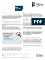 5401 Kidney Care UK KCFS024 Urinary Tract Infection Factsheet v3