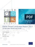 WP2017 O.1.2.1 - EnISA Threat Landscape 2017