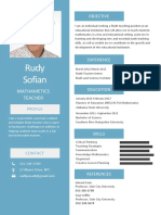 Simple Resume - CV Sir Rudy
